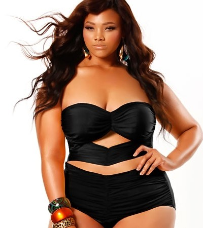 Plus Size Separates Swimwear