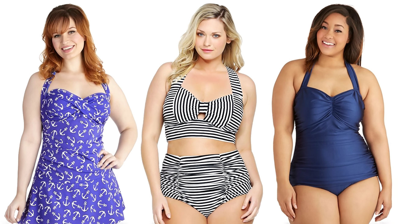 plus size swimsuits