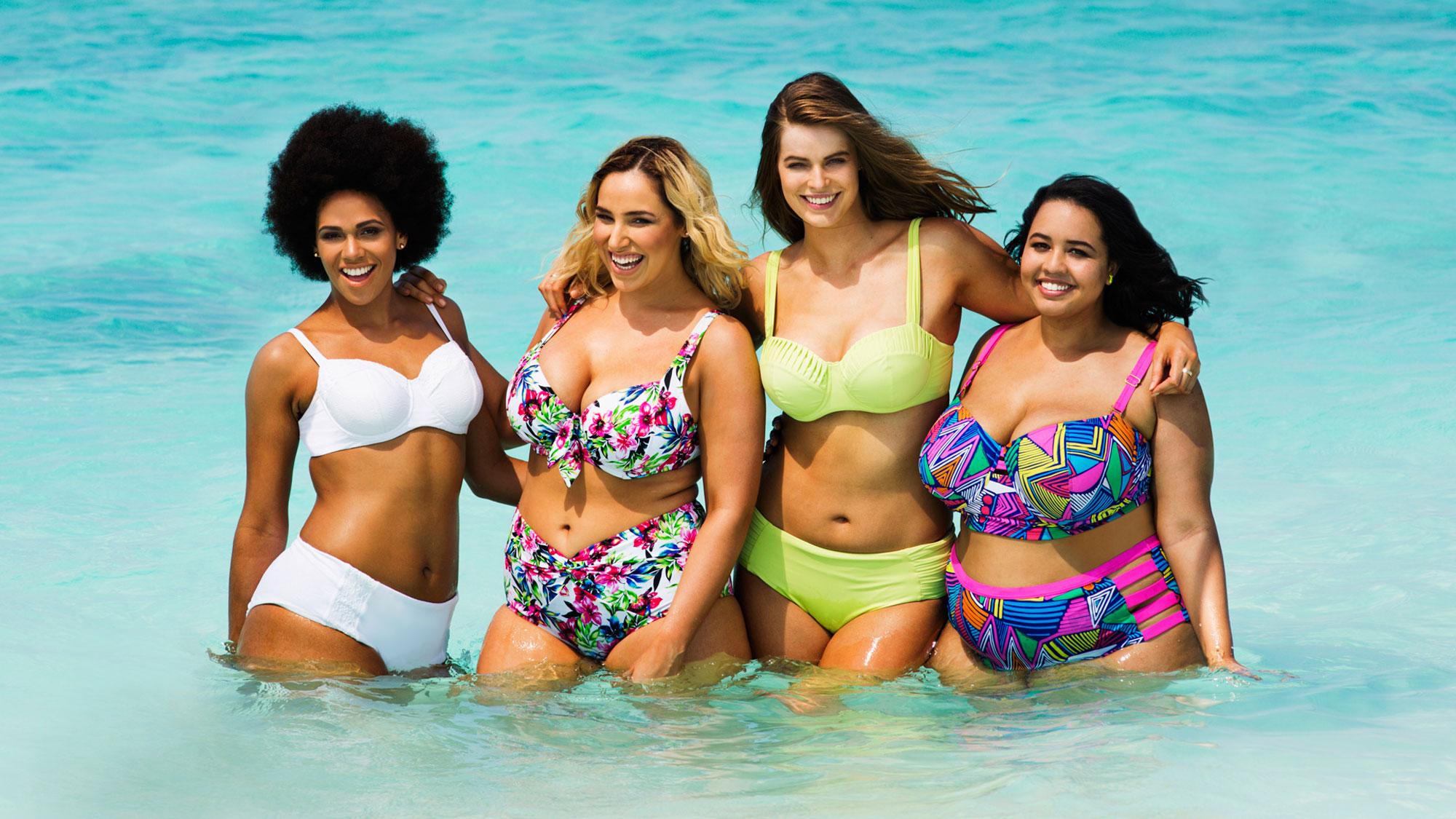 sexy swimwear (plus size)