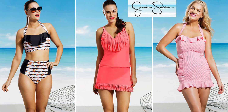 jessica simpson plus size swimwear